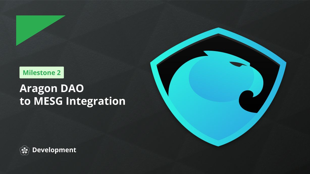 Connecting Aragon DAOs to webhooks
