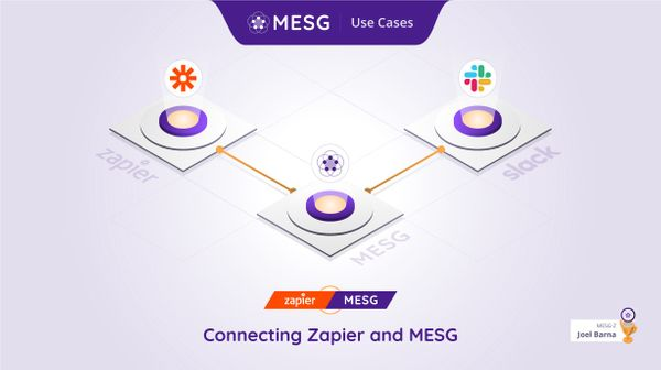 Connecting Zapier, MESG and Slack